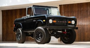 1977 Ford Bronco Pickup Restomod Simon Cowell 2 310x165 Bad Boy   Ford F 100 Pickup Restomod mit 5.2 Liter V8