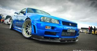 2001 Nissan Skyline R34 V Spec2 Tuning CCW HKS 310x165 1250 kg   Racing Honda NSX (NA1) Widebody mit 350 PS