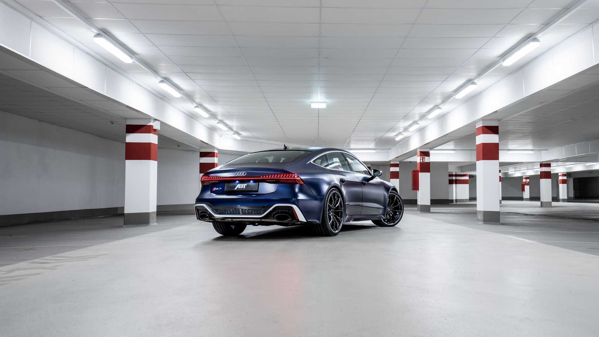 2020 ABT Sportsline Audi RS7 Sportback RS7 R Tuning 9 ABT Sportsline Audi RS7 Sportback mit 700 PS u. 22 Zöller