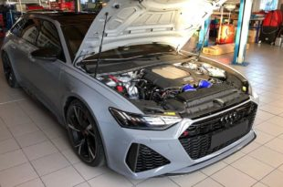 2020 HGP Stage 1 Audi RS6 C8 Avant Chiptuning 310x205 2020 HGP Stage 1 Audi RS6 (C8) Avant mit 786 PS/1061 NM