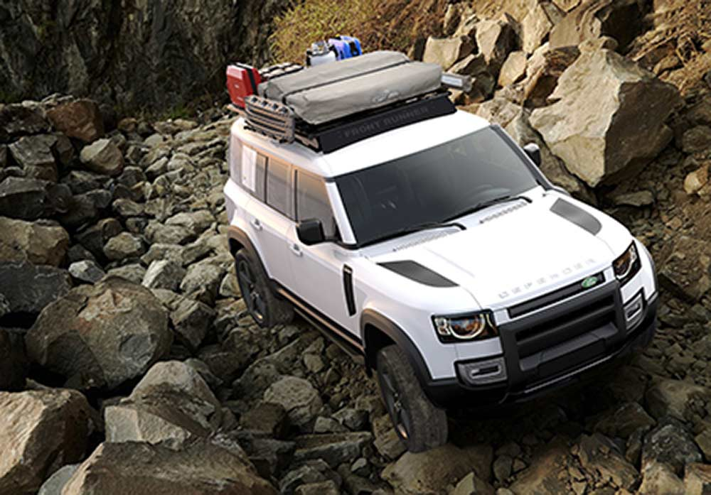 2020 Land Rover mit Front Runner Dachtr%C3%A4ger 2 2020 Land Rover Defender mit Front Runner Zubehör!