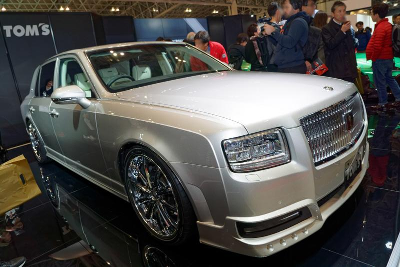 2020 Limited Edition Toyota Century Tuning TOM's 1 2020 Limited Edition Toyota Century vom Tuner TOM's