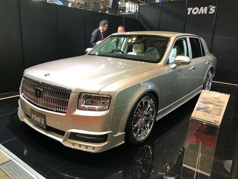 2020 Limited Edition Toyota Century Tuning TOM%E2%80%99s 4 2020 Limited Edition Toyota Century vom Tuner TOM's