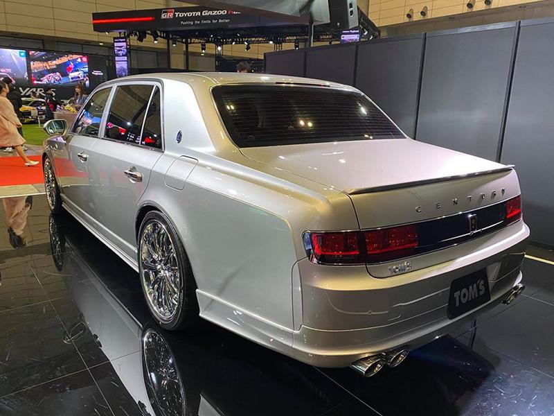 2020 Limited Edition Toyota Century Tuning TOM%E2%80%99s 7 2020 Limited Edition Toyota Century vom Tuner TOM's