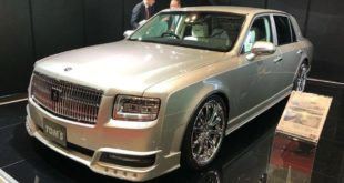 2020 Limited Edition Toyota Century Tuning TOM's Header 310x165 2020 Limited Edition Toyota Century vom Tuner TOM's