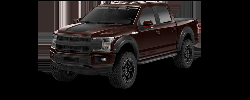 2020 f150sc magmared 2020 Roush Performance Ford F 150 SC Pickup mit 650 PS