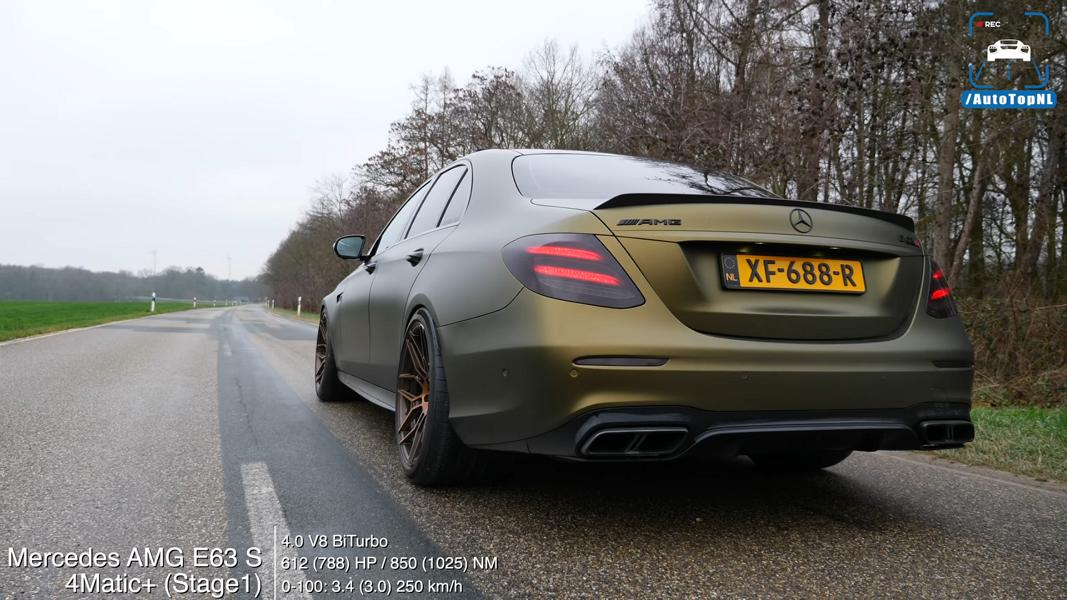 780 PS Mercedes AMG E63 S W213 im Test Video: 780 PS Mercedes AMG E63 S (W213) im Test!