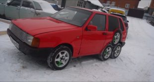 8 Alufelgen Wheels Garage54 Fiat Uno 4 310x165 Video: 8 Räder am russischen Garage54   Fiat Uno!