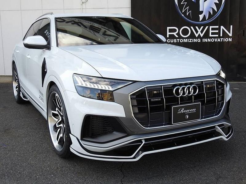 Audi Q8 4M SUV Rowen International Bodykit Tuning 11 Deutsches SUV mit Japan Bodykit   der Audi Q8 von Rowen International