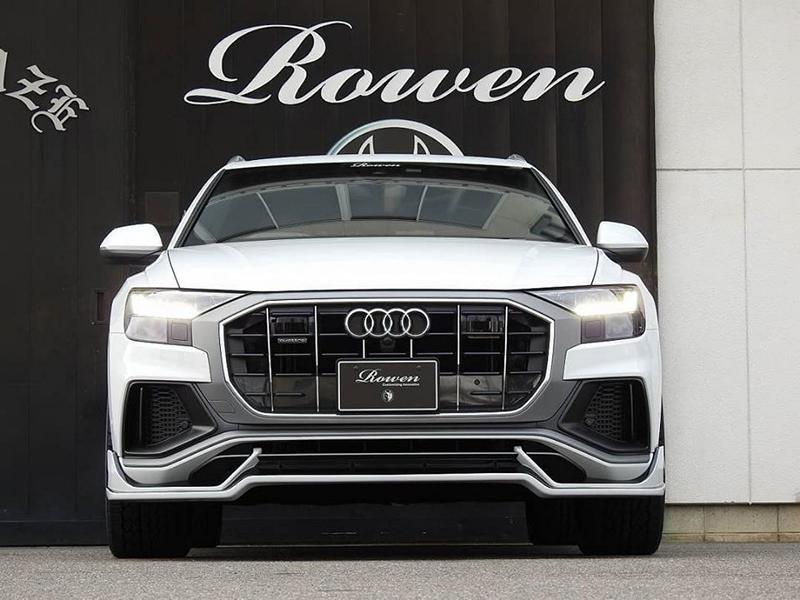 Audi Q8 4M SUV Rowen International Bodykit Tuning 5 2020   Audi Q8 (4M) SUV mit Rowen International Bodykit