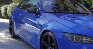 BMW E92 M3 6MT Kompressor in Santorini Blau 310x165 Video: 780 PS Mercedes AMG E63 S (W213) im Test!
