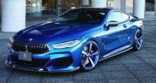 BMW M850i G15 3D Design Bodykit Tuning Carbon Header 310x165 BMW M850i (G15) mit 3D Design Bodykit zur TAS2020