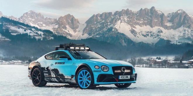 Eiszeit – Bentley Continental GT für das 2020 GP Ice Race