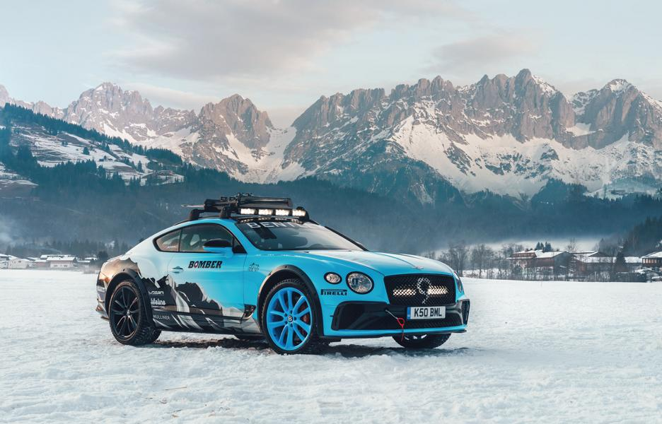 Bentley Continental GT 2020 GP Ice Race Tuning 1 Eiszeit   Bentley Continental GT für das 2020 GP Ice Race