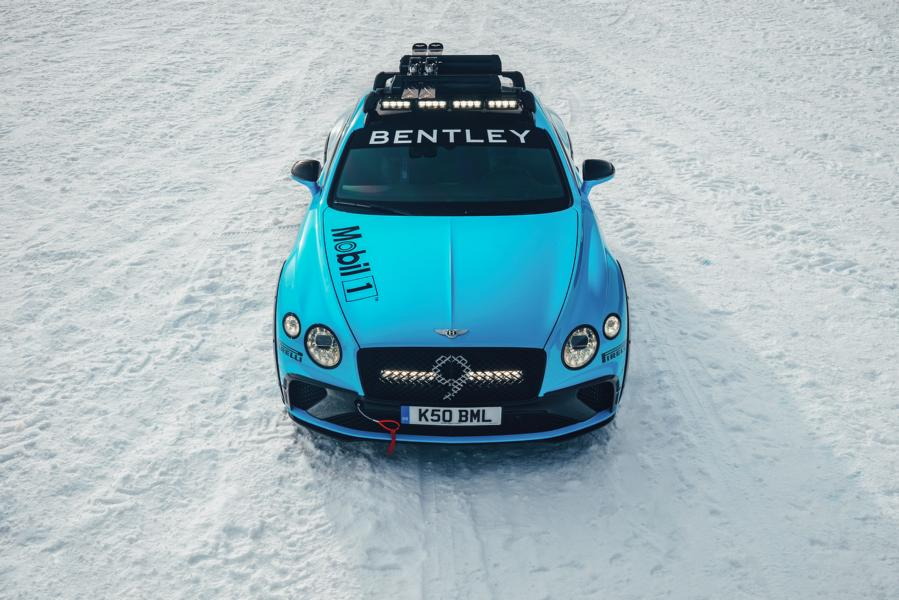 Bentley Continental GT 2020 GP Ice Race Tuning 5 Eiszeit   Bentley Continental GT für das 2020 GP Ice Race