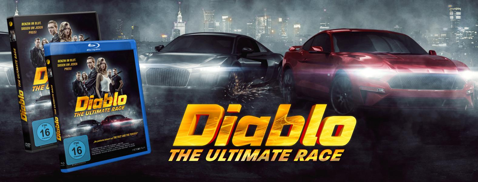 DIABLO – The ultimate Race DVD Tuning 3 Action pur: DIABLO – The ultimate Race jetzt auf DVD!