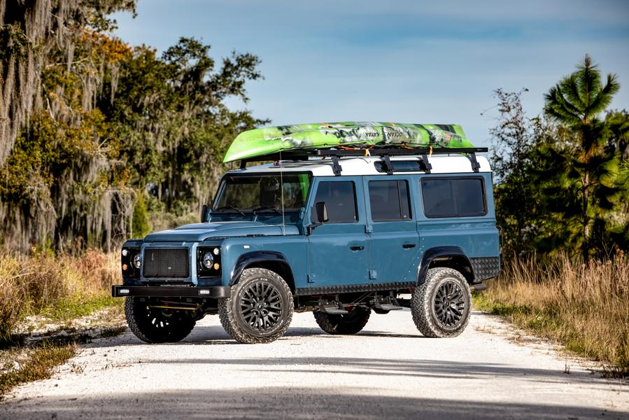 E.C.D. 1993 Land Rover Defender 110 Restomod Tuning V8 11 Project Galena   E.C.D. 1993 Land Rover Defender 110