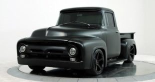 Ford F 100 Pickup Restomod 5.2 Liter V8 Tuning Widebody Head 310x165 Video: 1956 Ford F 100 Pickup Restomod mit Coyote V8!