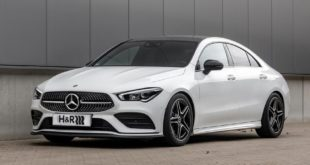 HR Sportfedern Mercedes CLA Limousine 2 310x165 French connection: H&R Sportfedern für den Opel Corsa F