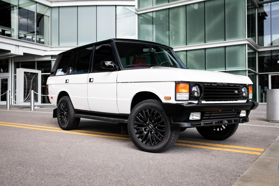 Land Rover Range Rover Classic County long wheelbase Tuning ECD 1 2200 Arbeitsstunden   ECD Range Rover Classic Lang!