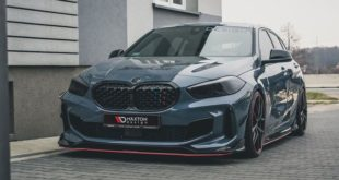 MaxtonDesign BMW M135i F40 xDrive Bodykit Tuning Header 310x165 Video: 720 PS am Rad   2020 Ford Mustang Shelby GT500