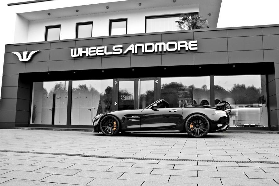 Mercedes AMG GT R Coupe C190 Hypaero Tuning 1 Mercedes AMG GT R Coupe Hypaero von Wheelsandmore