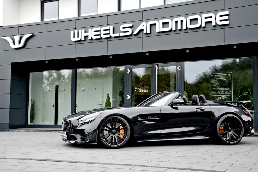 Mercedes AMG GT R Coupe C190 Hypaero Tuning 5 Mercedes AMG GT R Coupe Hypaero von Wheelsandmore