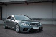 Mercedes S Klasse S500 L JMS W221 Tuning 1 190x127 Tiefer & breiter: Mercedes S Klasse S500 L von JMS (W221)