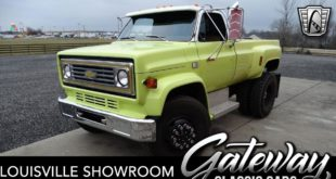 Restomod 1986 Chevrolet D6500 Pickup Head 310x165 1981 Toyota G45 S Land Cruiser mit 318 Kompressor PS