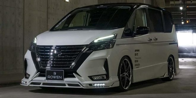Rowen International Bodykit am biederen Nissan Serena