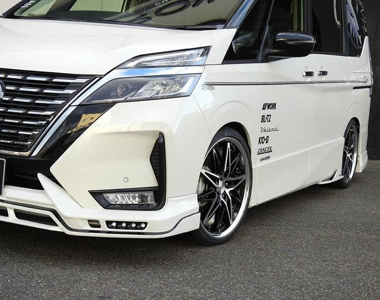 Rowen International Bodykit Nissan Serena Tuning C27 6 Rowen International Bodykit am biederen Nissan Serena