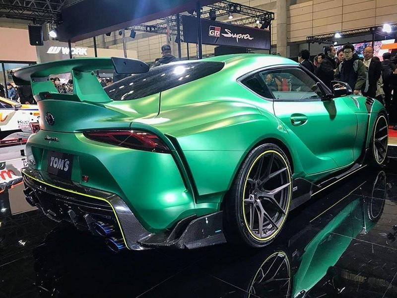 TOM's Widebody Toyota Supra A90 Bodykit Tuning 8 TOM's Widebody Toyota Supra (A90) zur Tokyo Auto Show!