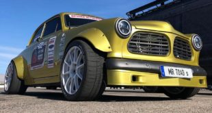 Volvo V06 Amazon LS7 V8 Clinched widebody Tuning 3 1 310x165 Restomod Volvo P1800 Coupe mit 419 PS Vierzylinder!