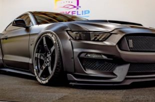 Widebody Ford Mustang GT Tuning Kompressor Header 310x205 Brutal: +1.000 PS Widebody Ford Mustang GT aus London!