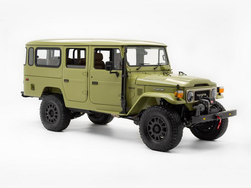 1981 Toyota G45 S Land Cruiser Restomod Tuning 116 1981 Toyota G45 S Land Cruiser mit 318 Kompressor PS