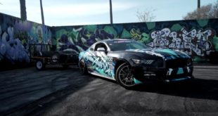 2JZ Motor Tuning Drift Car Ford Mustang GT 3 310x165 Video: 2JZ Triebwerk im Ford Mustang Drift Car mit Hänger!