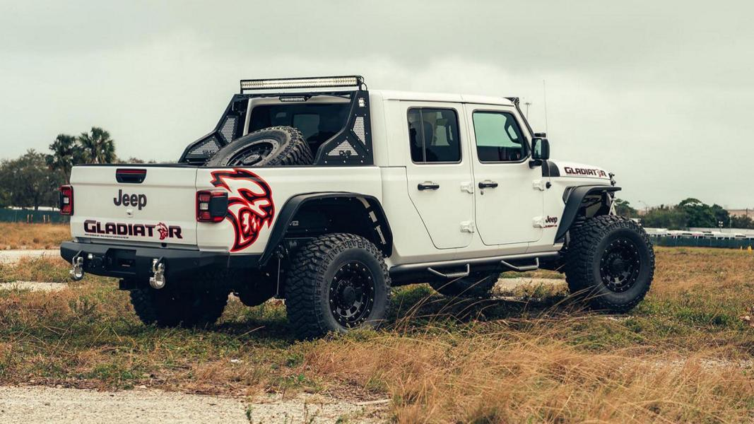 707 PS V8 Hellcat Power 2020 Jeep Gladiator Pickup Tuning 6 707 PS V8 Hellcat Power im 2020 Jeep Gladiator Pickup!