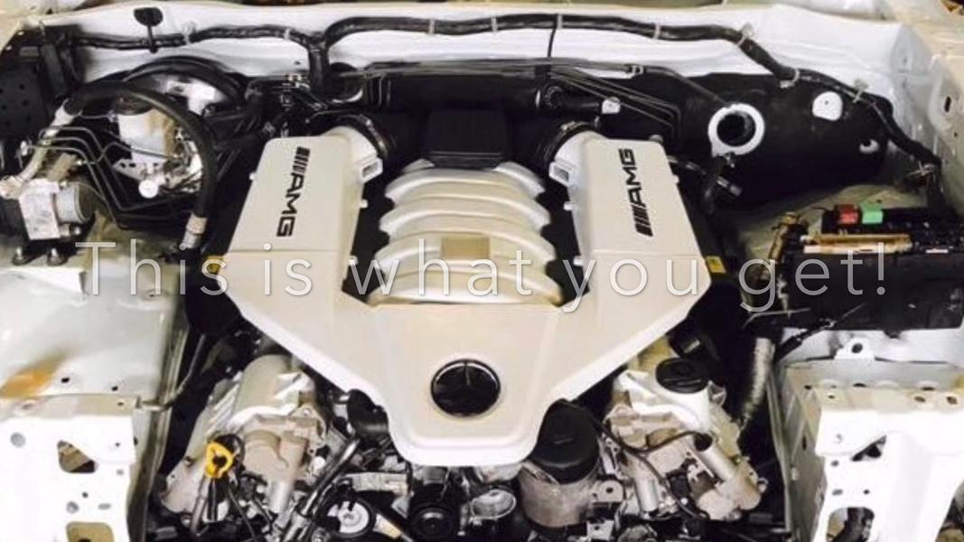 AMGLUX Toyota Hilux mt 62 Liter AMG V8 Tuning Swap 2 Video: AMGLUX   Toyota Hilux mit 6,2 Liter AMG V8