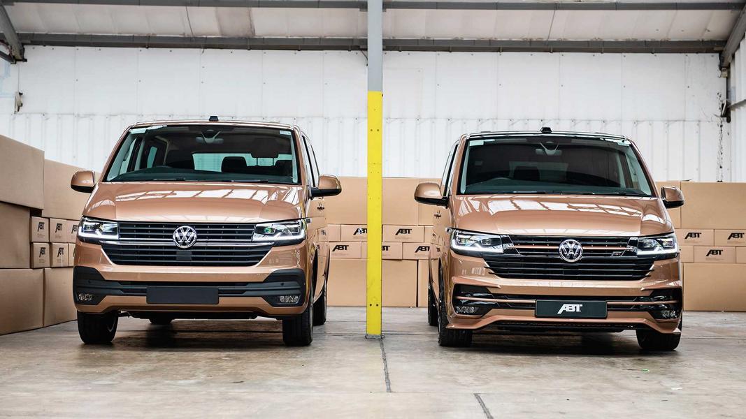 Aeropaket 2020 VW T6.1 Tuning ABT Sportsline Bodykit 11 Perfekter Style   2020 VW T6.1 vom Tuner ABT Sportsline
