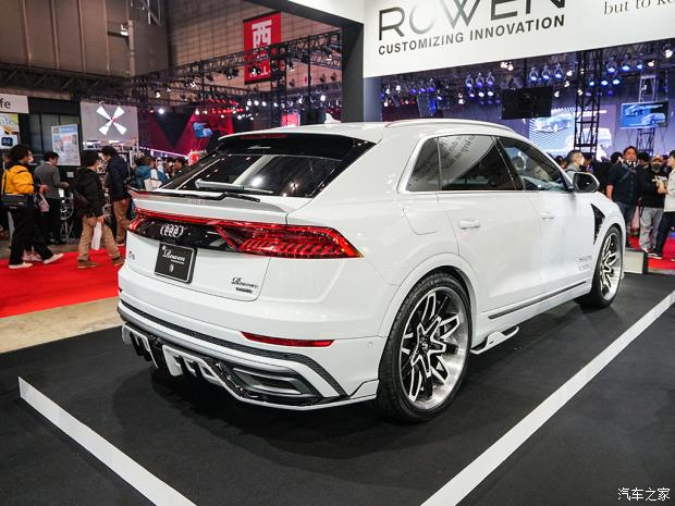 Audi Q8 1 Deutsches SUV mit Japan Bodykit   der Audi Q8 von Rowen International