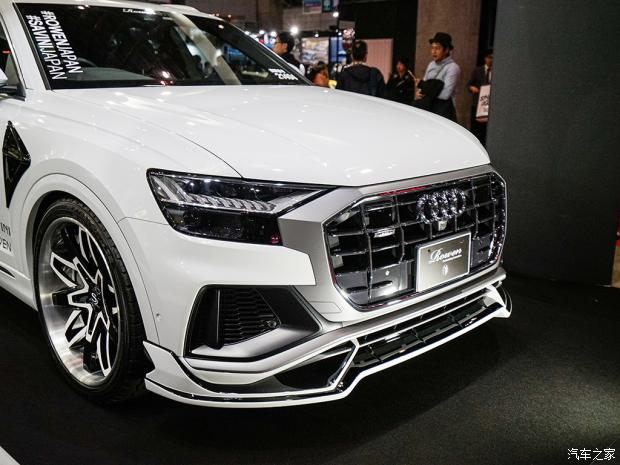Audi Q8 2 Deutsches SUV mit Japan Bodykit   der Audi Q8 von Rowen International