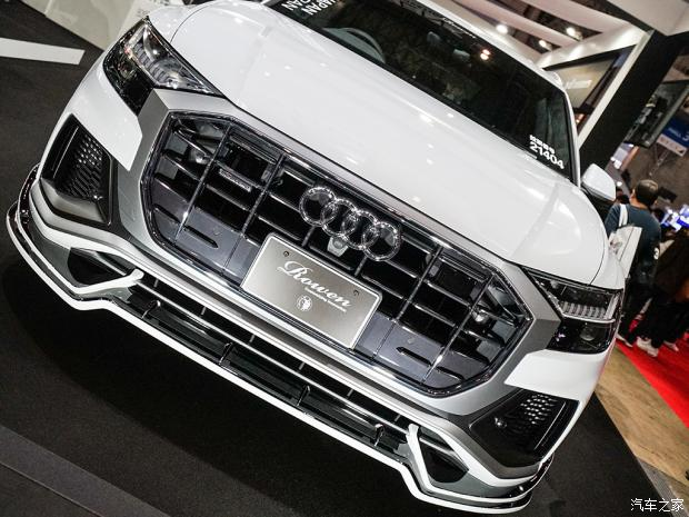 Audi Q8 3 Deutsches SUV mit Japan Bodykit   der Audi Q8 von Rowen International