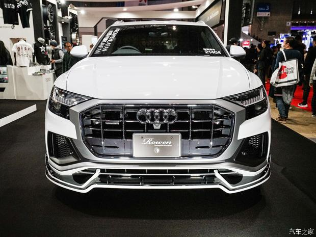 Audi Q8 4 Deutsches SUV mit Japan Bodykit   der Audi Q8 von Rowen International