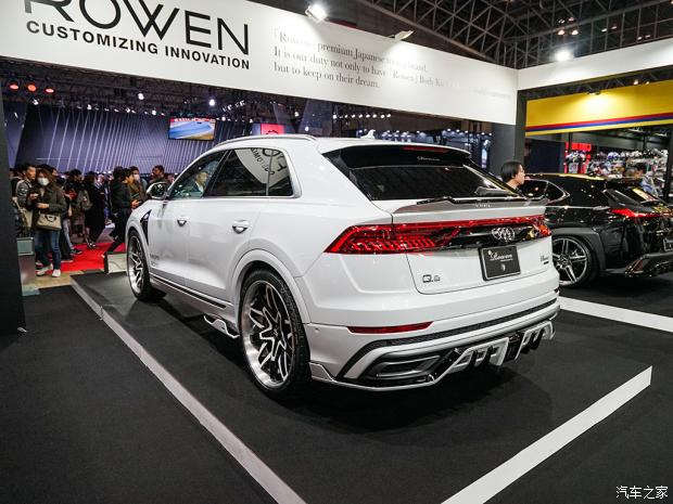 Audi Q8 5 Deutsches SUV mit Japan Bodykit   der Audi Q8 von Rowen International