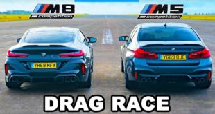 BMW M5 Competition F90 vs M8 Competiton G15 310x165 Video: 2020 Shelby Mustang GT500 vs. McLaren 720S!