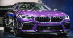 BMW M8 Gran Coupe F93 Twilight Purple Individual Montral 01 310x165 BMW M8 Gran Coupé mit M Performance Parts   violetter Traum aus Bayern.