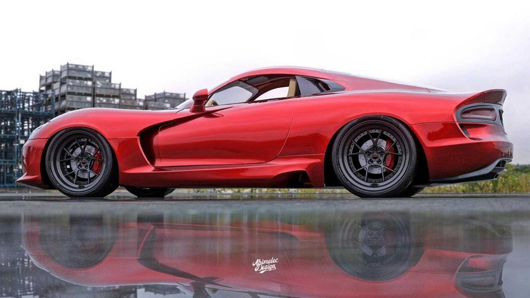 Dodge Viper With Mid Engine A Corvette C8 Opponent