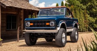 Gateway 1969 Ford %E2%80%9CFuelie%E2%80%9D Bronco Restomod Tuning 3 310x165 V8 Power im 1955 Chevrolet 3100 Restomod Pickup!