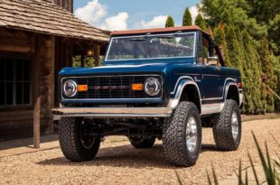 "Gateway 1969 Ford ""Fuelie"" Bronco Restomod Tuning 3 310x205 Beauty   Restomod Ford Bronco vom Team Gateway!"