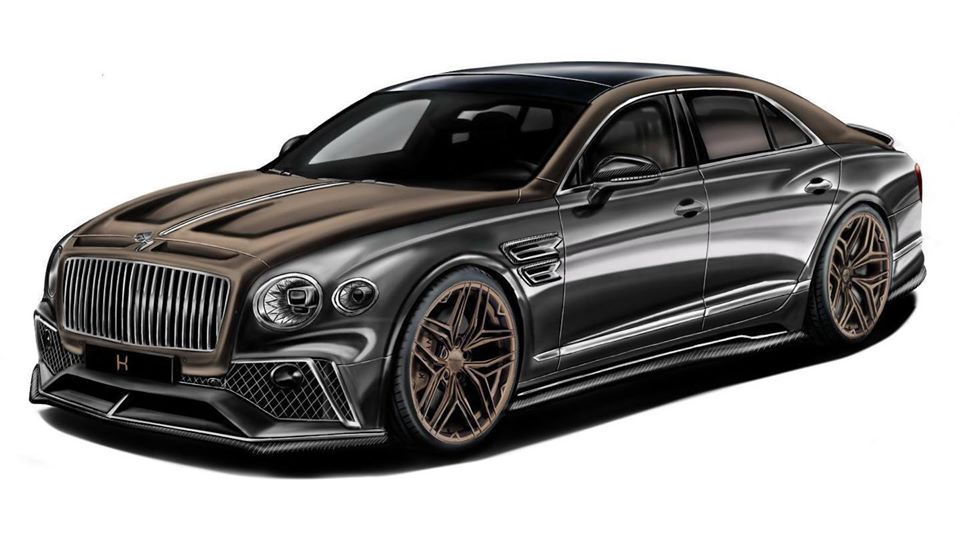 KEYVANY BENTLEY FLYING SPUR 2020 Tuning 900 PS und viel Carbon   Keyvany Bentley Continental GT